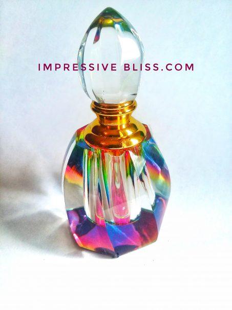 Emerald Crystal Bottle