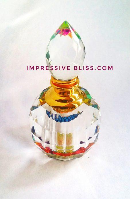 Marigold Crystal Bottle