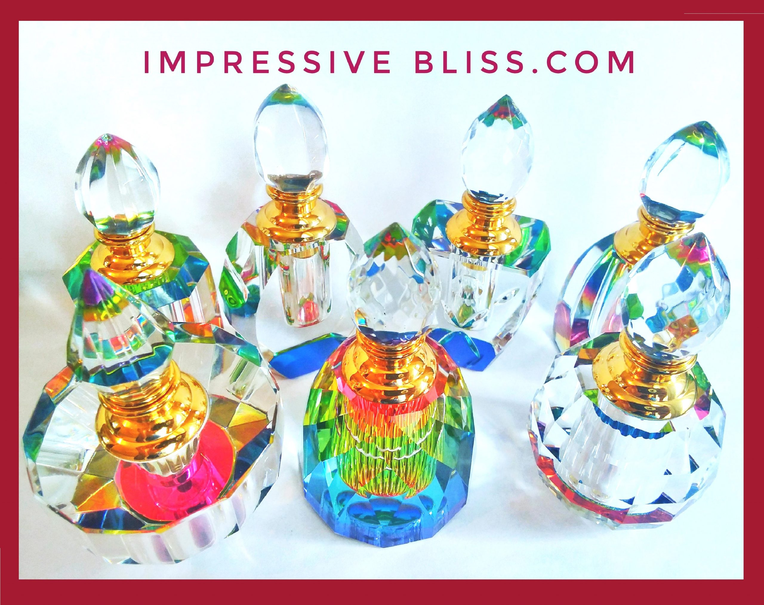 Impressive Bliss Crystal Bottles